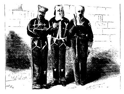 The Ku Klux Klan was the most notable white supremacist group to form in the years following the Civil War.