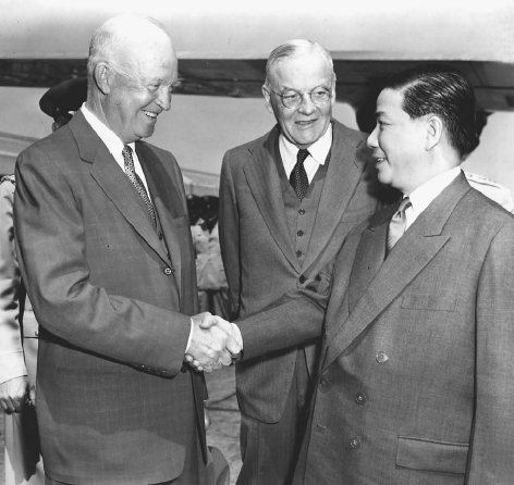 the life and accomplishments of ngo dinh diem and the united states in the vietnam war Transcript of eisenhower, dulles, and the cold war  he provided aid to south vietnam's ngo dinh diem  in which the united states and soviet union would.