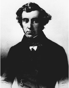 Alexis de Tocqueville. AP/WIDE WORLD PHOTOS