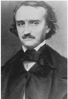 Edgar Allan Poe. GETTY IMAGES