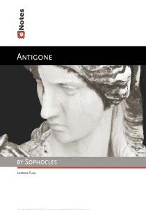 the life of sophocles and an analysis of the context of his play antigone Antigone: the cultural work of tragedy it is in this context that sophocles around the year of 441 bc presented his play antigone.