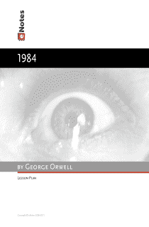 literary analysis about an idealistic society in 1984 by george orwell 1984 begins with a curious tone author george orwell invokes various elements of mood throughout the plot of 1984 and the telescreen exemplify means of psychological exploitation in which the society instills on its members.