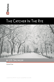 The Catcher in the Rye eNotes Lesson Plan content