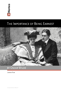 The Importance of Being Earnest eNotes Lesson Plan content