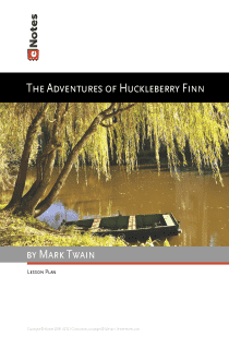 The Adventures of Huckleberry Finn eNotes Lesson Plan content