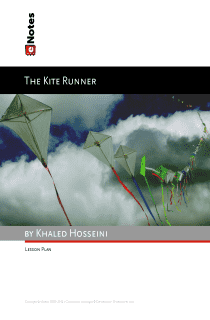 The Kite Runner eNotes Lesson Plan content