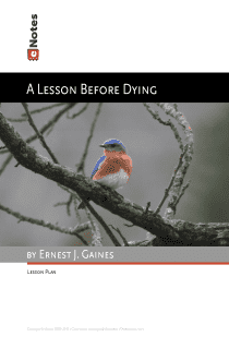 A Lesson before Dying eNotes Lesson Plan content