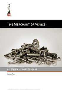The Merchant of Venice eNotes Lesson Plan content