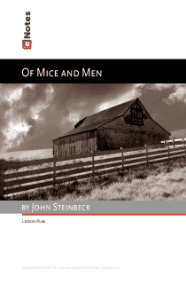 Of Mice and Men eNotes Lesson Plan content
