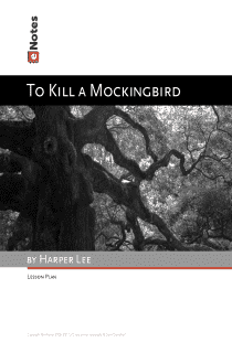 To Kill a Mockingbird eNotes Lesson Plan content