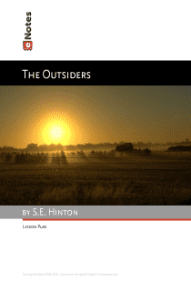 The Outsiders eNotes Lesson Plan content