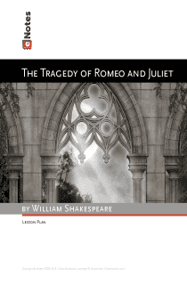 Romeo and Juliet eNotes Lesson Plan content