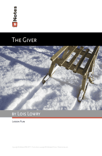 The Giver eNotes Lesson Plan content