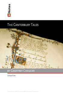 The Canterbury Tales eNotes Lesson Plan content