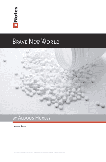 Brave New World eNotes Lesson Plan content