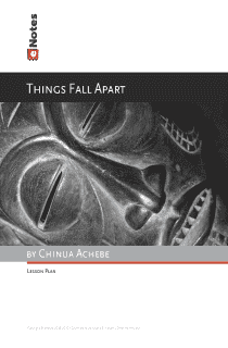 Things Fall Apart eNotes Lesson Plan content