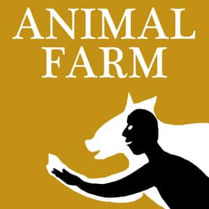 an analysis of the plot characters setting and theme in george orwells novel animal farm Animal farm study guide contains a biography of george orwell, literature essays, quiz questions, major themes, characters, and a full summary and analysis.