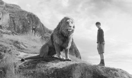 Skandar Keynes as Edmund Pevensie in the 2005 film version of The Chronicles of Narnia: The Lion, the Witch, and the Wardrobe