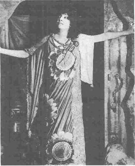 Legendary actress Sarah Bernhardt as Medea