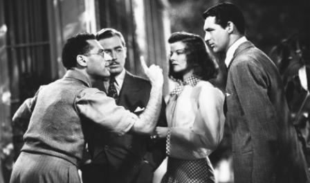 Geroge Cukor Directing The Philadelphia Story