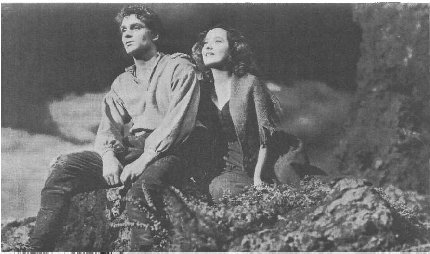 Still from the film Wuthering Heights, starring Merle Oberon and Laurence Olivier, 1939.