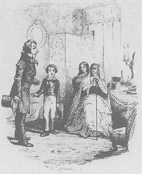 Illustration by Frederic W Pailthorpe, from Charles Dickens