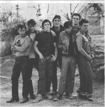 A scene from The Outsiders