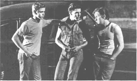 A Movie Still from The Outsiders