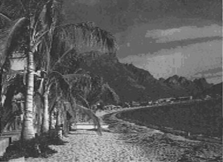 Mexican coastal town