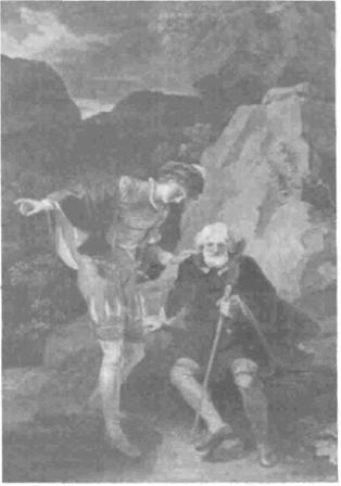 Orlando and Adam by Robert Smirke (1798)