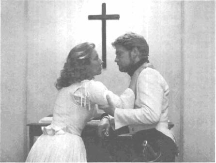 Beatrice and Benedick in film adaptation (1993)