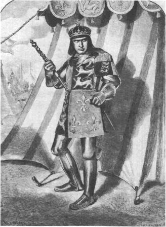 Richard III as played by Edwin Booth (1872)