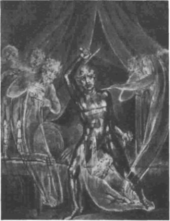 Richard and the ghosts by William Blake