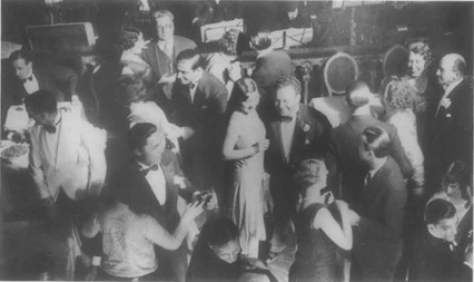 Patrons of the Paris nightclub Club Zellie, circa 1929.
