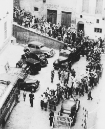 Detained Algerians c. 1957