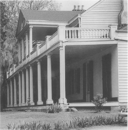 The Linden plantation house in Natchez, Mississippi.
