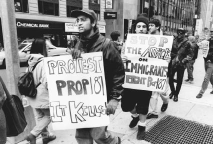"""an analysis of the anti immigrant proposition 187 in the united states Anti-immigrant initiatives such as proposition 187 in california and proposition 200 in arizona, as well as a number of """"copy- cat"""" bills in other states point critical fights at the local and state level."""