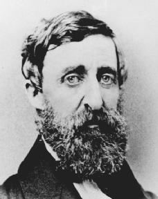 Henry David Thoreau was a leading writer and thinker of mid-nineteenth century America. His defense of John Brown was in support of individuals who have the courage of their own convictions. Photograph courtesy of the Library of Congress.