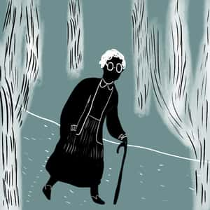 phoenix jackson in a worn path essay It is a bright but cold morning in december when an old woman with the mythologically-infused name phoenix jackson sets out along a worn path she  essay questions.