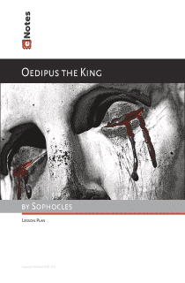 Oedipus the King Lesson Plans for Teachers