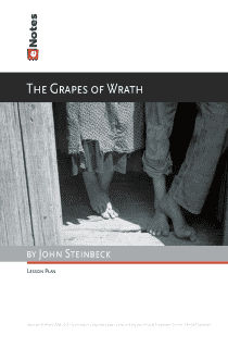 An analysis on the suffering of humans in the grapes of wrath by john steinbeck