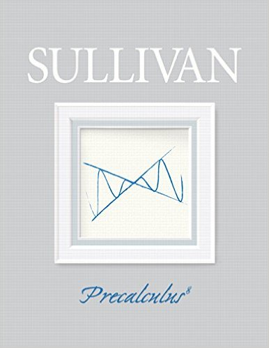 Book Cover for Precalculus (8th Edition, Michael Sullivan)
