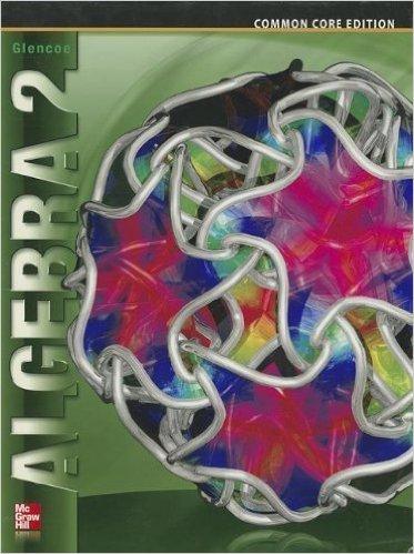Book Cover for Glencoe Algebra 2 (1st Edition,  McGraw-Hill Education)